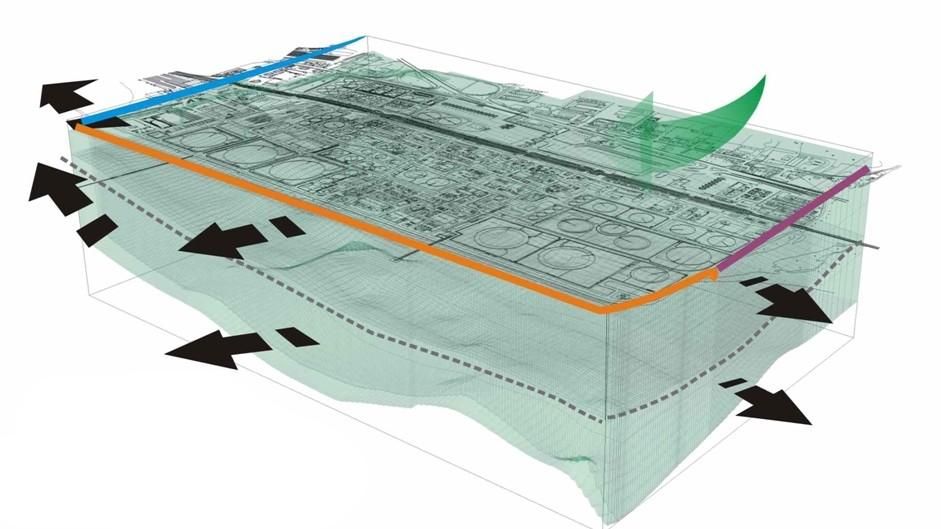 tethys - siti contaminati - Gestione della messa in sicurezza di emergenza di una raffineria