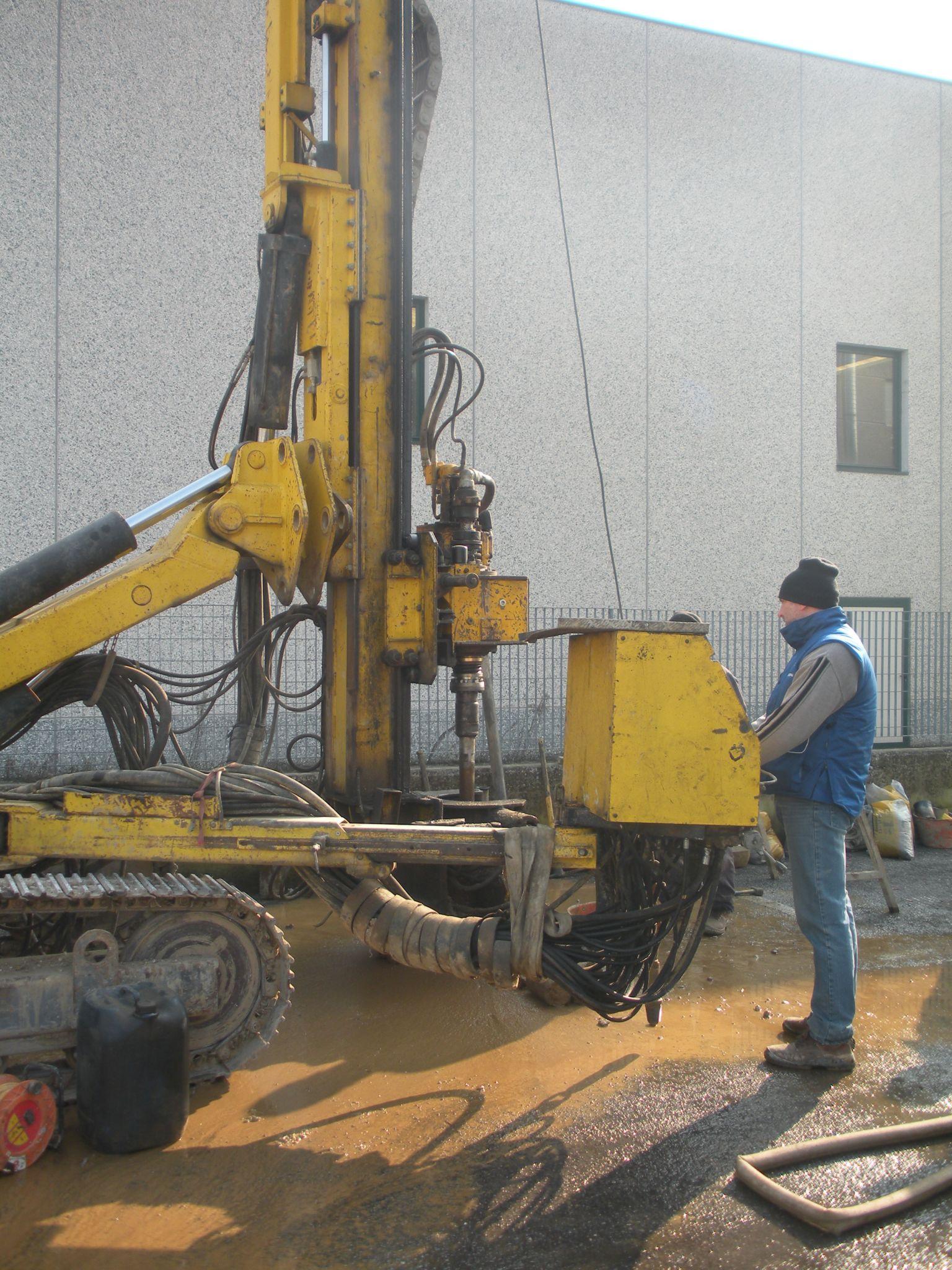 tethys - consulenza ambientale e idrogeologica - Intervento per abbassamento falda