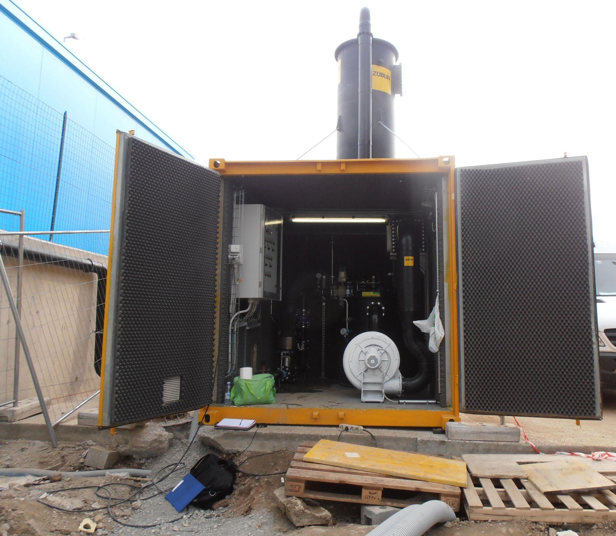 tethys - siti contaminati - barriera idraulica per la messa in sicurezza d'emergenza