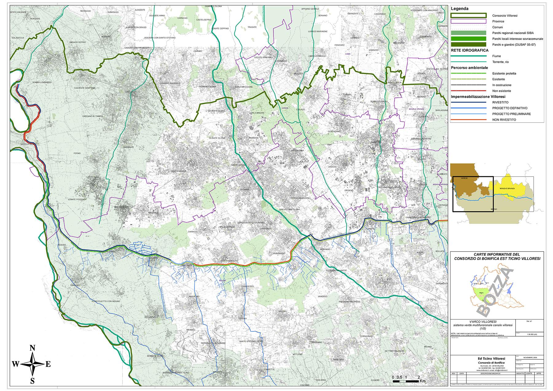 tethys - analisi territoriale - Predisposizione di cartografie tematiche per l'ottimizzazione della gestione irrigua
