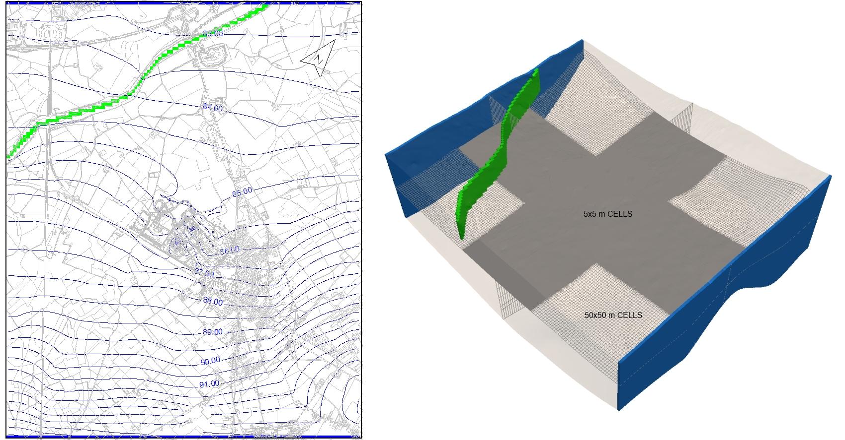 tethys - siti contaminati - Consulenza idrogeologica modellazione matematica acque sotterranee bonifica